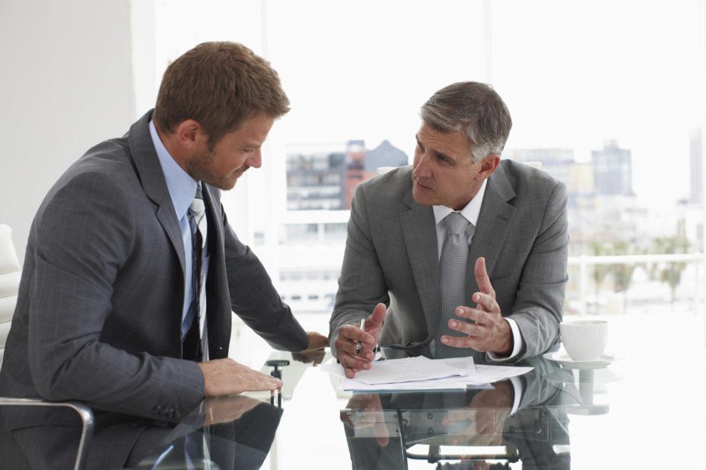 Обсуждение условий по банкротству организации