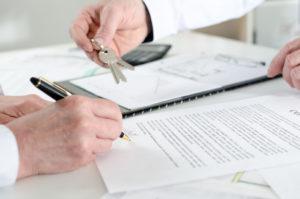 Передача ключей и подпись документов