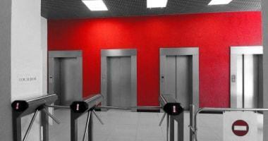 Проход к лифтам